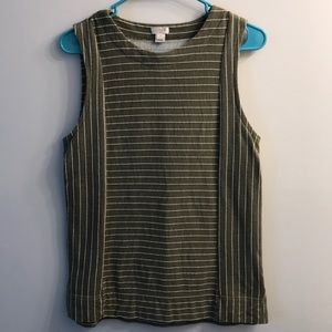 J Crew Factory striped tank
